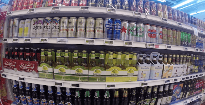 Beer_and_cider_for_sale_in_supermarket